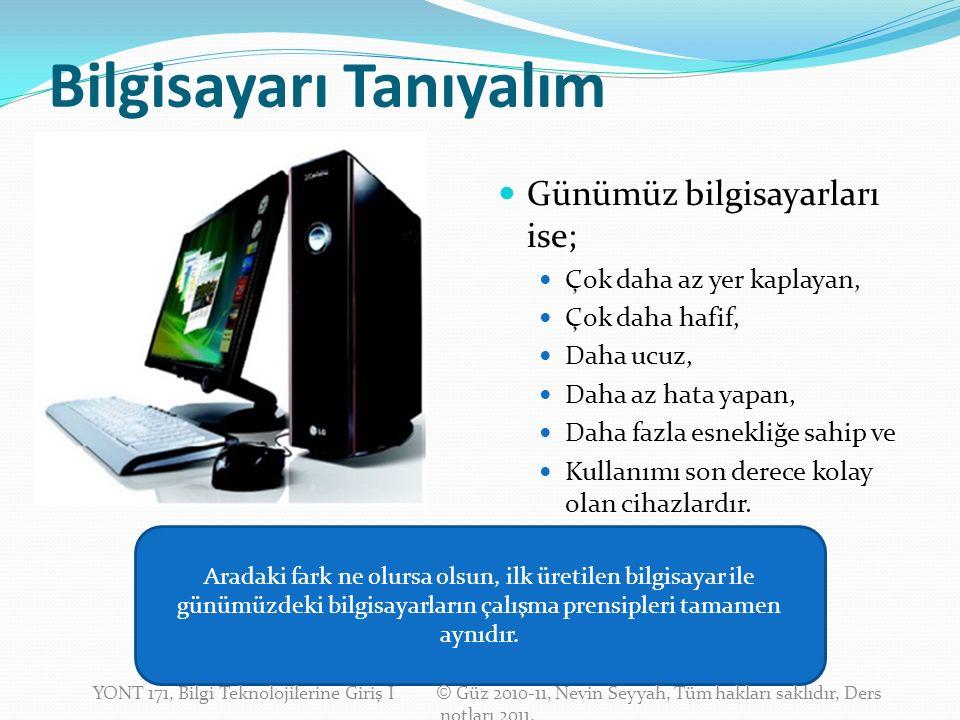 İşlemci ve Ana Bellek Bilgisayarların en temel bileşenleri işlemci ve ana bellektir.