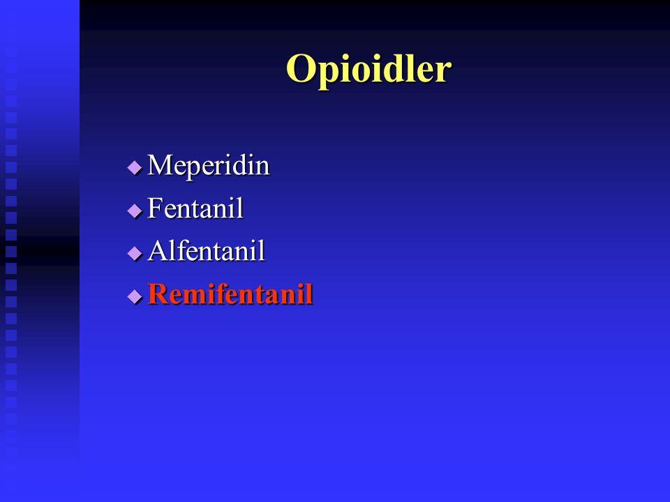 Propofol  Folikül sıvısında birikme Coetsier et al. Hum Reprod 1992  Oosit kalitesine etkisiz Ben-Shlomo et al. Hum Reprod 2000  Gebelik oranına et