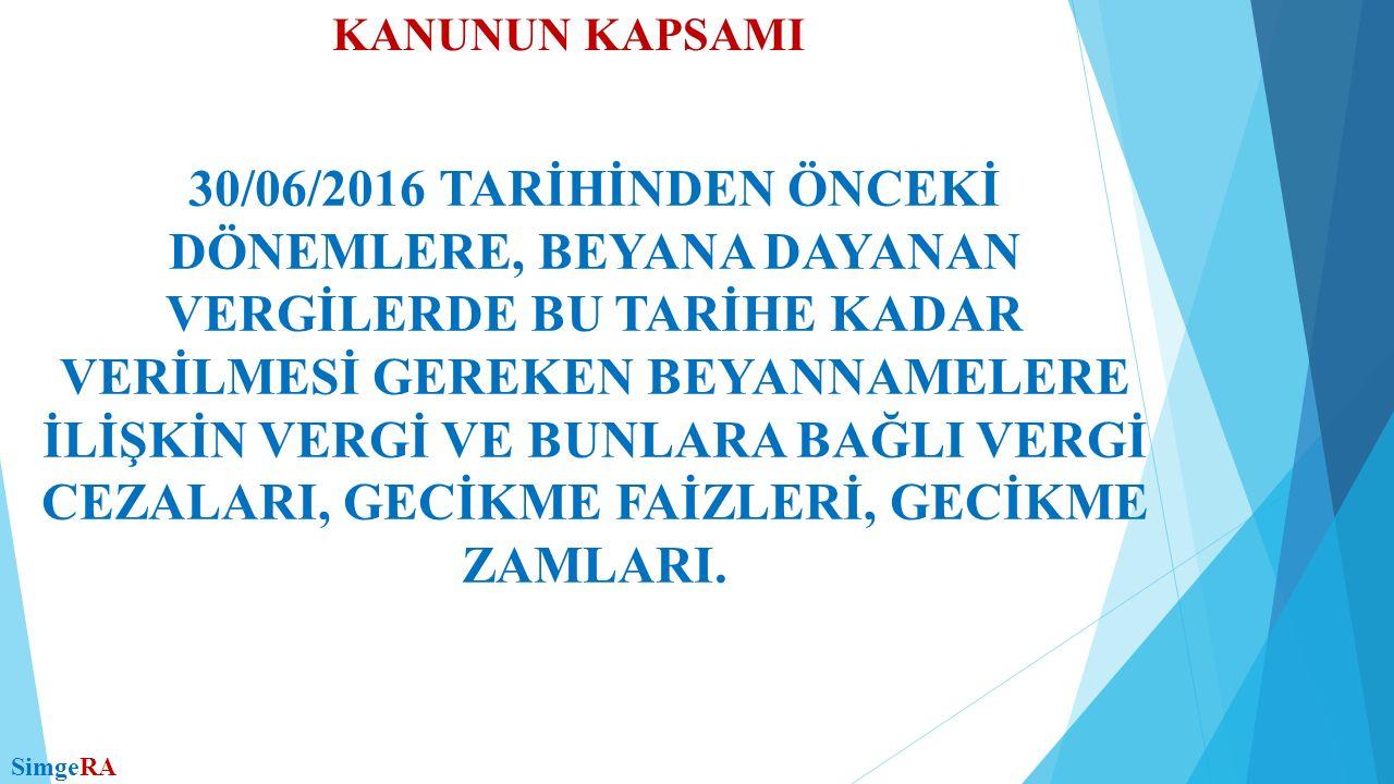 DİĞER HÜKÜMLER TAKİP EDİLMEKTE OLAN VE VADESİ 31/12/2011 TARİHİNDEN ÖNCE OLDUĞU HALDE, BU KANUN YAYIMLANDIĞI TARİH İTİBARIYLA ÖDENMEMİŞ OLAN VE 6183 SAYILI KANUN KAPSAMINA GİREN HER BİR ALACAĞIN TÜRÜ, DÖNEMİ, ASILLARI AYRI AYRI DİKKATE ALINMAK SURETİYLE TUTARI 50 TL.'Yİ AŞMAYAN ASLİ ALACAKLARIN VE TUTARINA BAKILMAKSIZIN BU ASILLARA BAĞLI FER'İ ALACAKLARIN, ASLI ÖDENMİŞ FER'İ ALACAKLARDAN TUTARI 100 TL.'Yİ AŞMAYANLARIN TAHSİLİNDEN VAZGEÇİLİR.