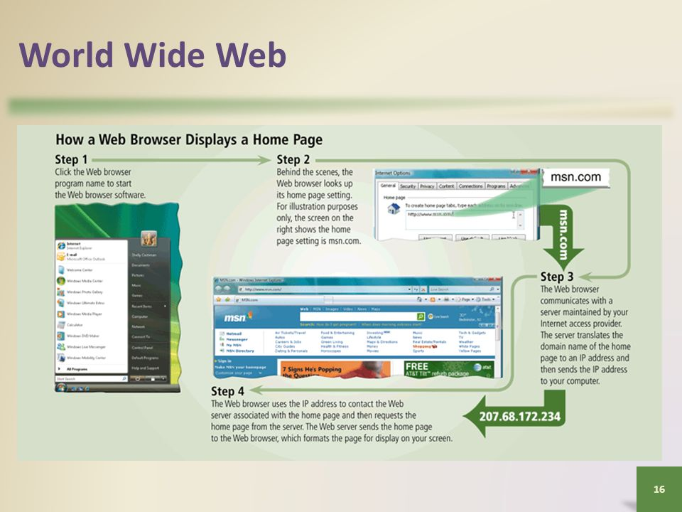 World Wide Web 16
