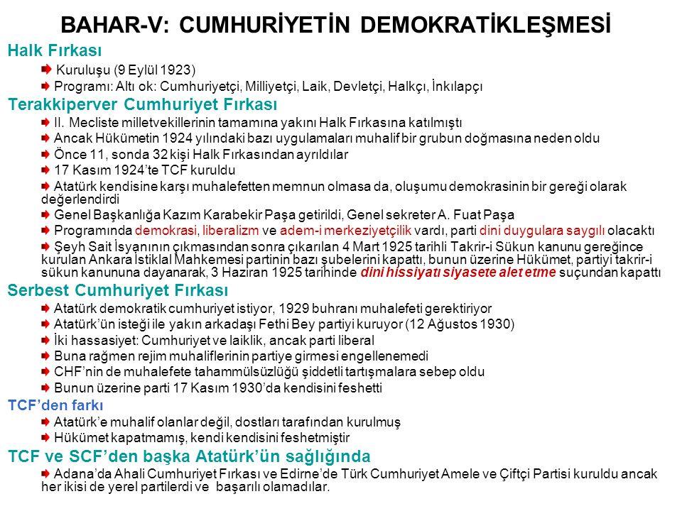 BAHAR-XIV: TÜRKİYE CUMHURİYETİNİN DIŞ POLİTİKASI Kıbrıs Meselesi Kıbrıs 1571'den 1878'e kadar Osmanlı yönetiminde kalmıştır 1878'de üs olarak kullanılmak üzere İngiltere'ye verilmiş, I.