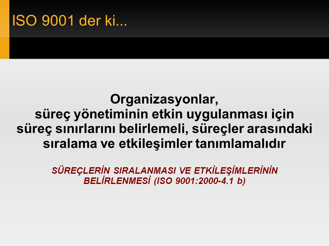 ISO 9001 der ki...