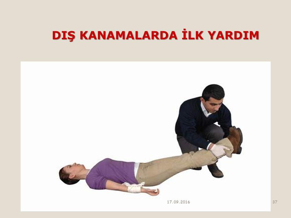 DIŞ KANAMALARDA İLK YARDIM 17.09.201637