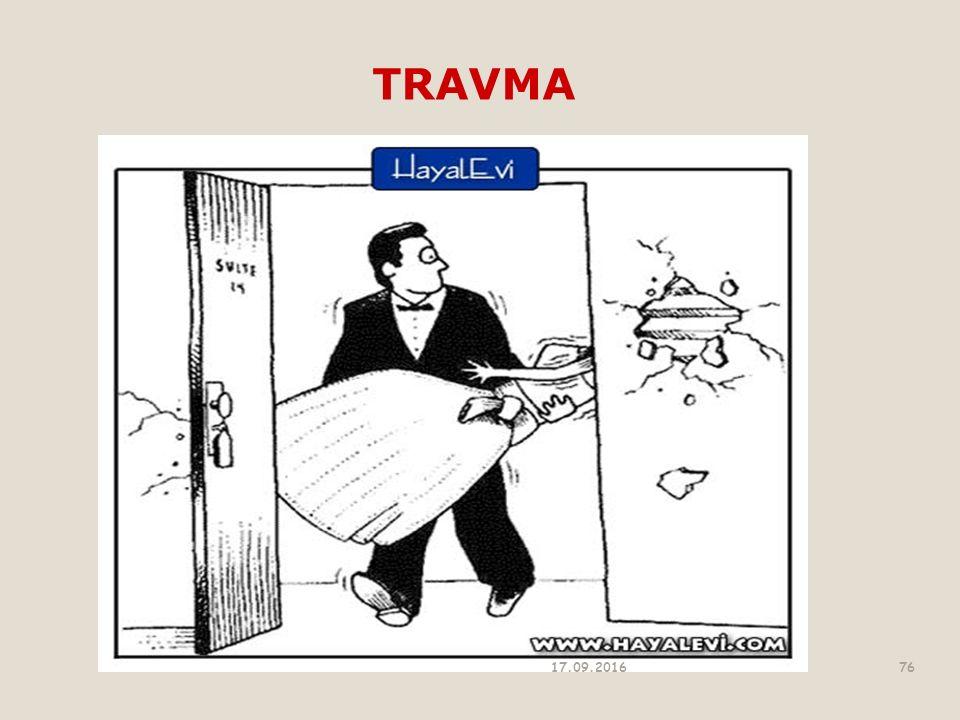 TRAVMA 17.09.201676