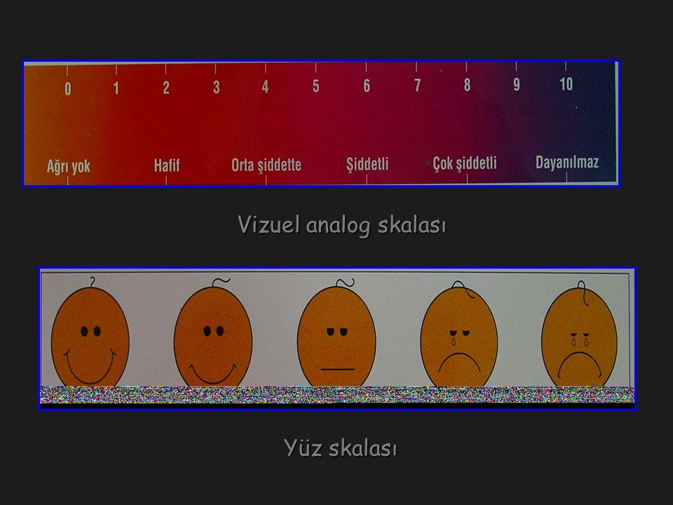 Yüz skalası Yüz skalası Vizuel analog skalası