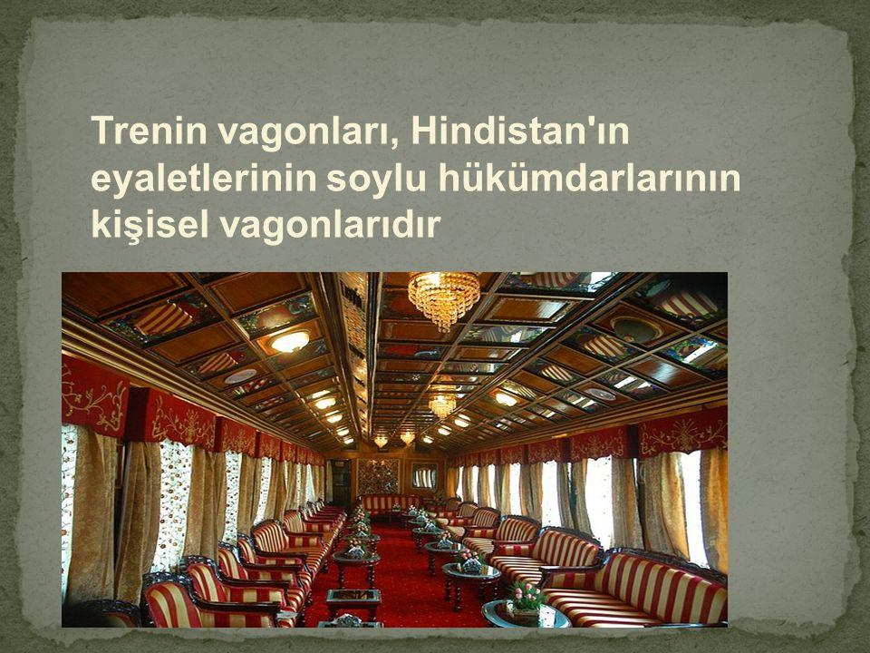 Trenin vagonları, Hindistan'ın eyaletlerinin soylu hükümdarlarının kişisel vagonlarıdır