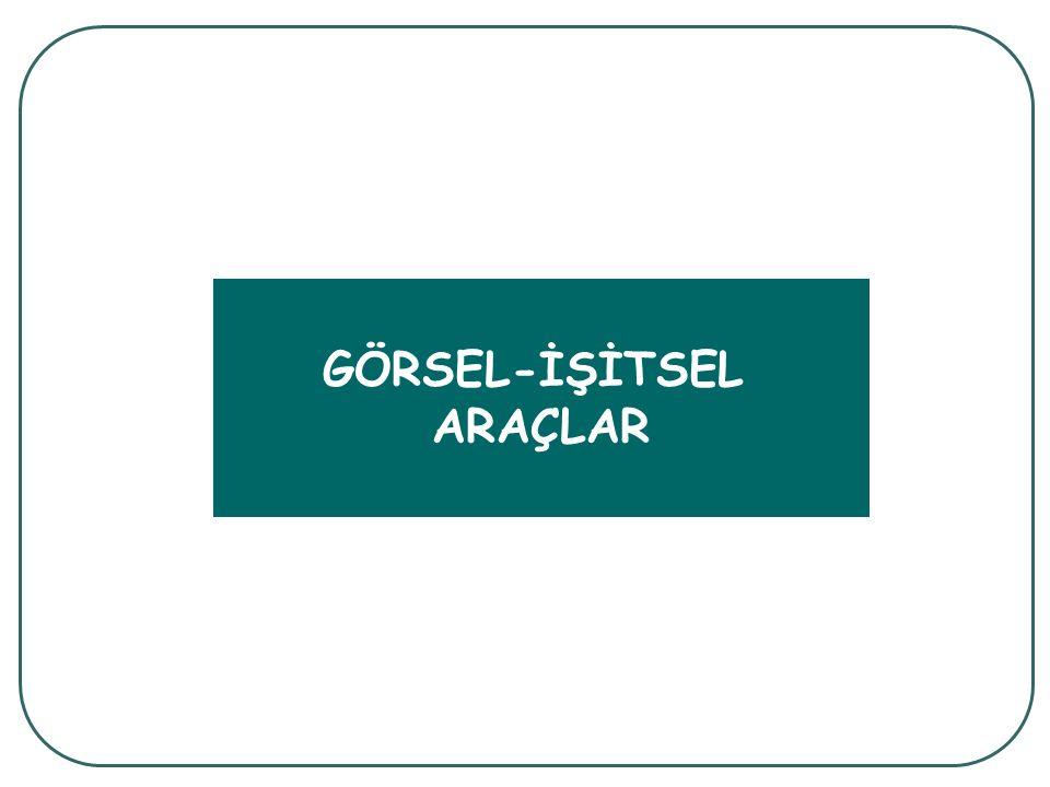 GÖRSEL-İŞİTSEL ARAÇLAR