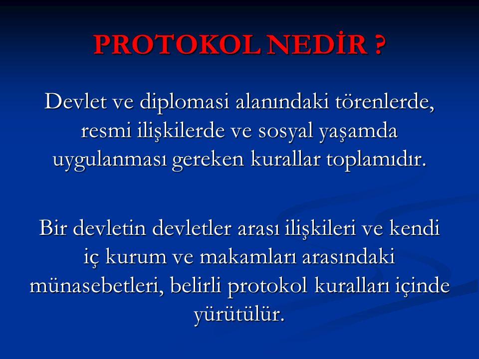 İL PROTOKOL SIRASI 8.