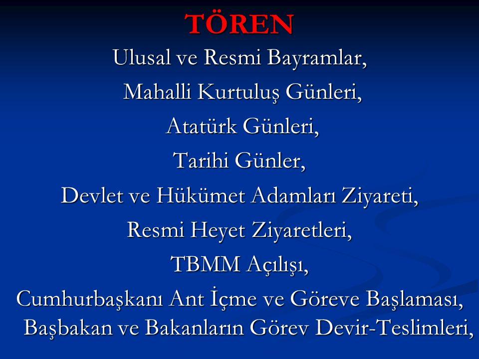 TÖREN Ulusal ve Resmi Bayramlar, Mahalli Kurtuluş Günleri, Mahalli Kurtuluş Günleri, Atatürk Günleri, Atatürk Günleri, Tarihi Günler, Devlet ve Hüküme