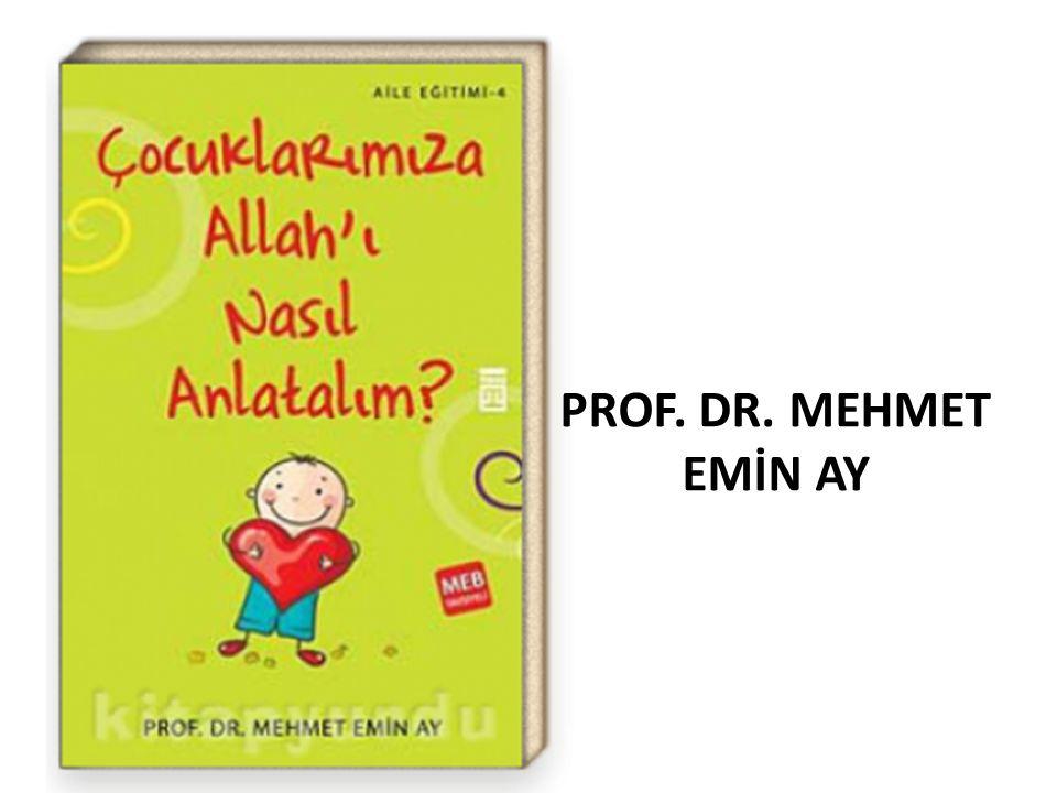 PROF. DR. MEHMET EMİN AY