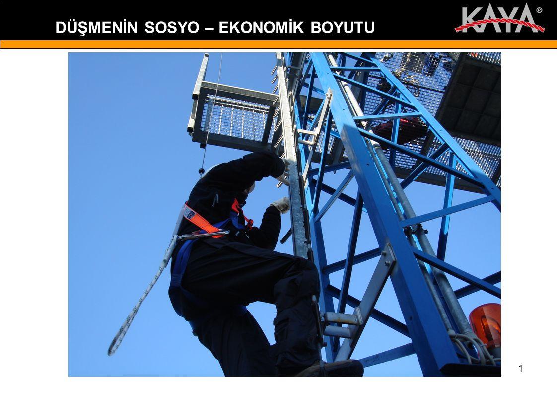 11 Türkiye'de ; Örneğin ölümlü bir kaza nedeniyle kaybedilen 71.554 $ karşılığında; Bir inşaatta 1.430 m 3 BS 25 beton dökülebilir veya bir binanın dış cephesi 1.780 m 2 seramikle kaplanabilir ya da bir inşaata 145 Ton demir satın alınabilirdi.