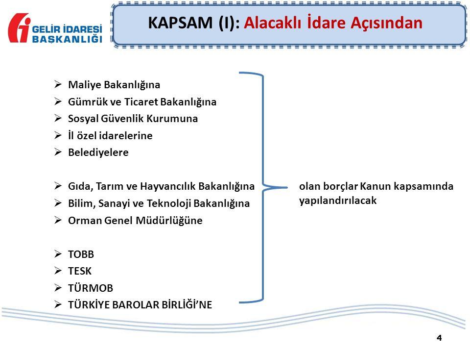 SÜRESİNDE ÖDENMEYEN TAKSİTLER  İlk iki taksitin süresinde ödenmesi şart.