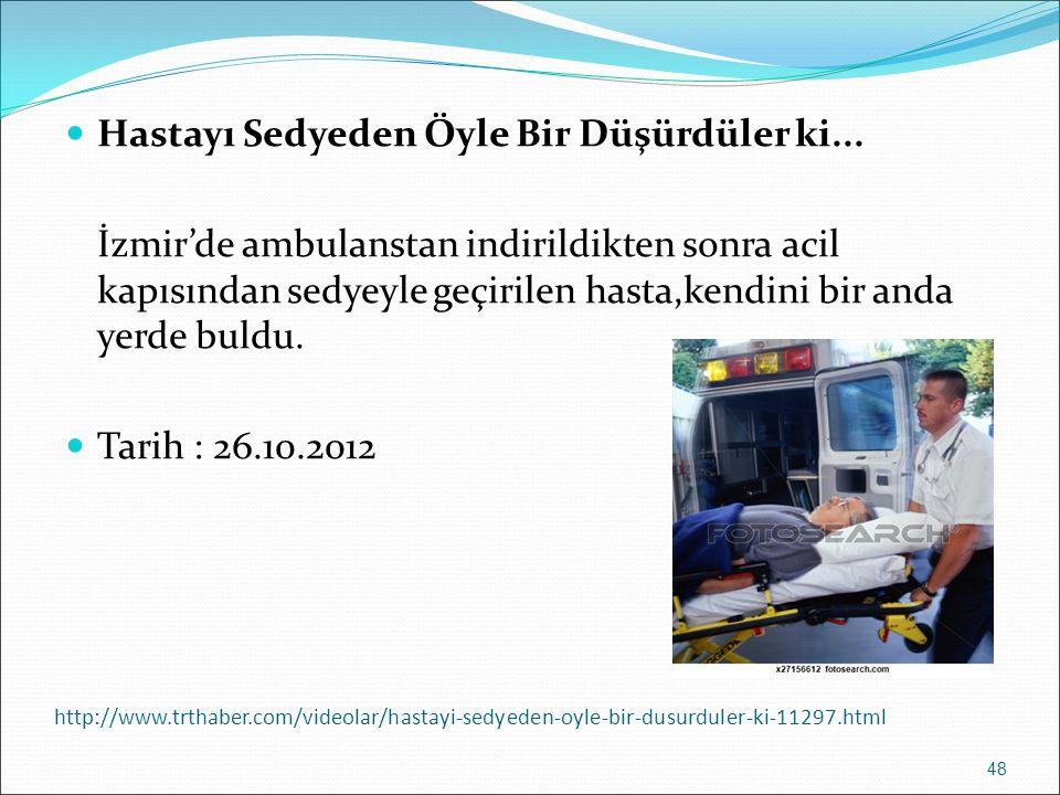http://www.trthaber.com/videolar/hastayi-sedyeden-oyle-bir-dusurduler-ki-11297.html Hastayı Sedyeden Öyle Bir Düşürdüler ki... İzmir'de ambulanstan in