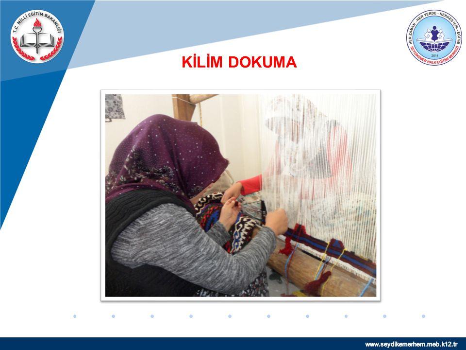 www.company.com KİLİM DOKUMA