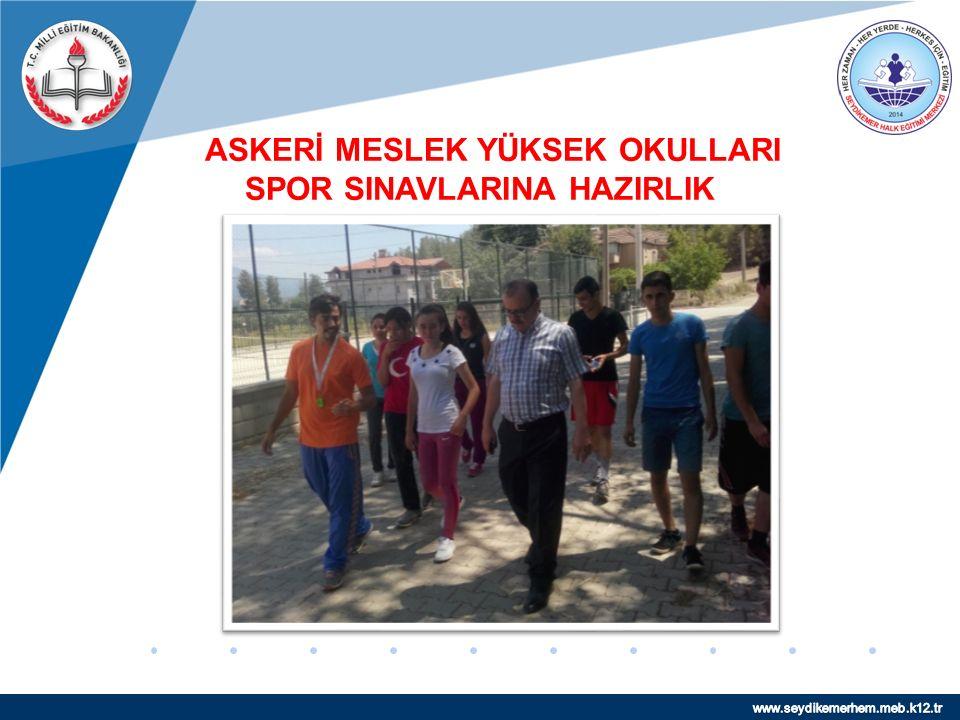 www.company.com ASKERİ MESLEK YÜKSEK OKULLARI SPOR SINAVLARINA HAZIRLIK
