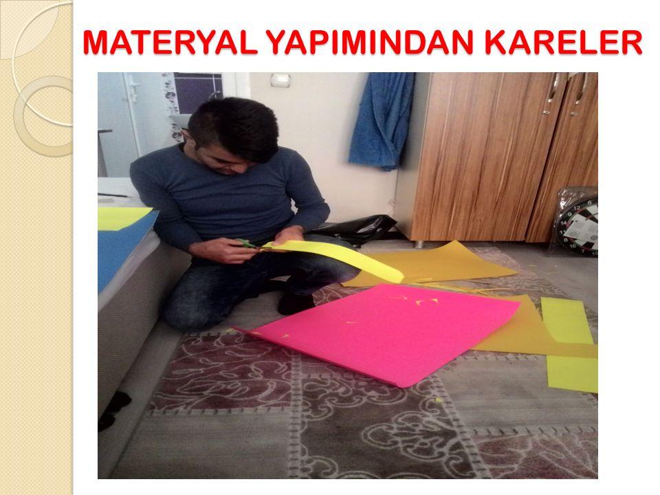 MATERYAL YAPIMINDAN KARELER