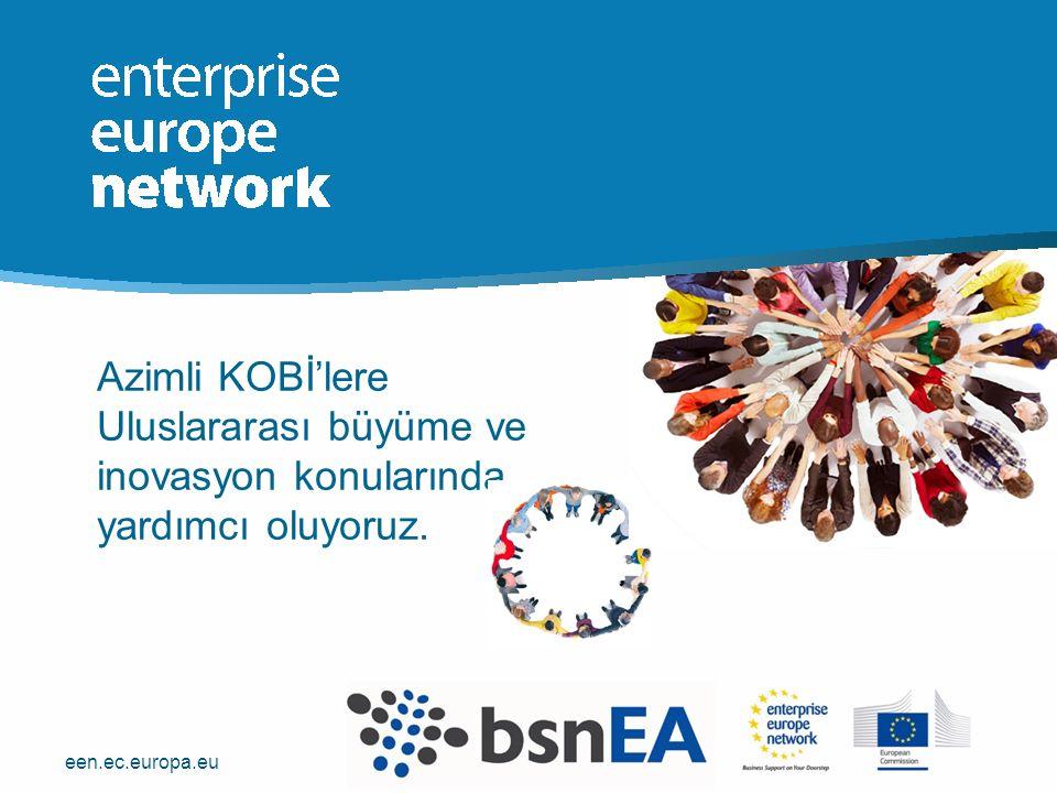 een.ec.europa.eu Azimli KOBİ'lere Uluslararası büyüme ve inovasyon konularında yardımcı oluyoruz.