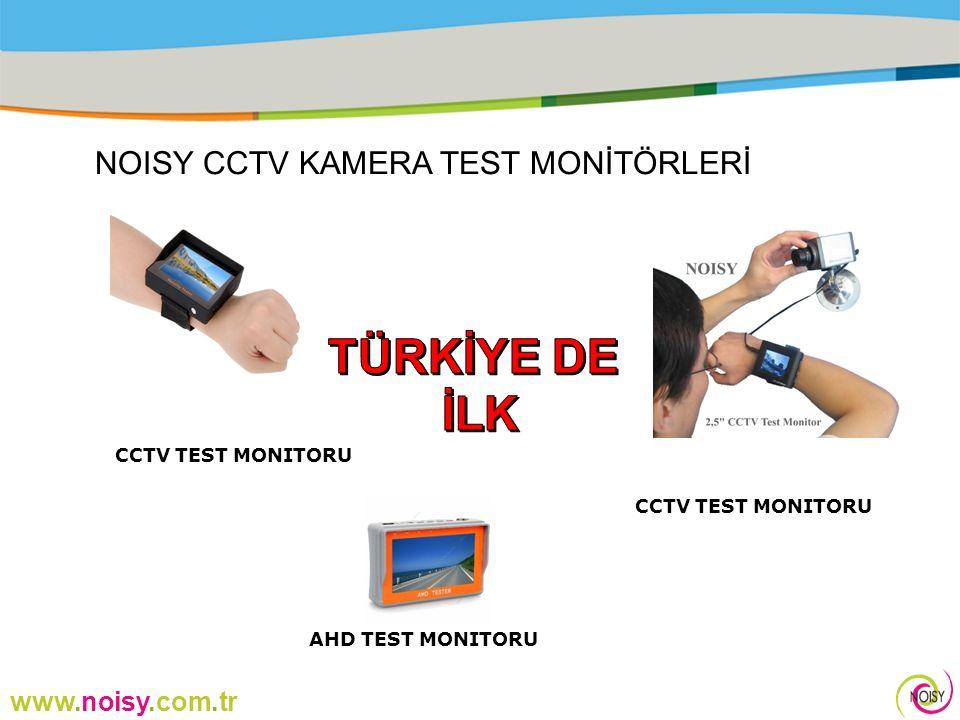 www.noisy.com.tr NOISY CCTV KAMERA TEST MONİTÖRLERİ AHD TEST MONITORU CCTV TEST MONITORU