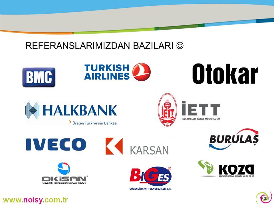 www.noisy.com.tr VİZYONUMUZ Ürün gamımızı teknolojinin gerektirdiği gelişmeleri takip edip yeni monitor sistemlerine adapte olarak yeni ürünleri ürettirip Türkiye pazarına sunmayı hedefliyoruz, bir sonraki hedefimiz de Dünya pazarında rol alan büyük aktörler arasına girmek