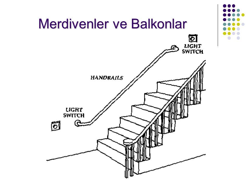/ 5823 Merdivenler ve Balkonlar