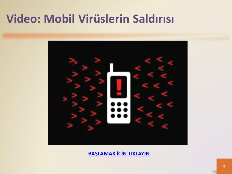 Video: Mobil Virüslerin Saldırısı 8 BAŞLAMAK İÇİN TIKLAYIN