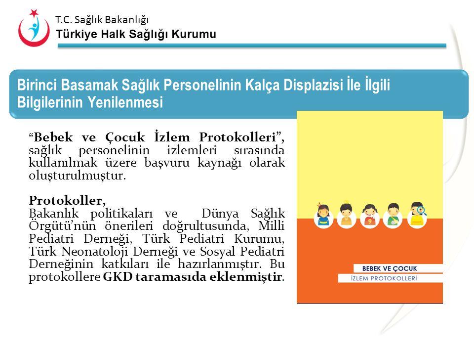 T.C. Sağlık Bakanlığı Türkiye Halk Sağlığı Kurumu Programı Kimlerle Yürütüyoruz? Türk Ortopedi ve Travmatoloji Birliği Derneği Çocuk Ortopedisi Şubesi