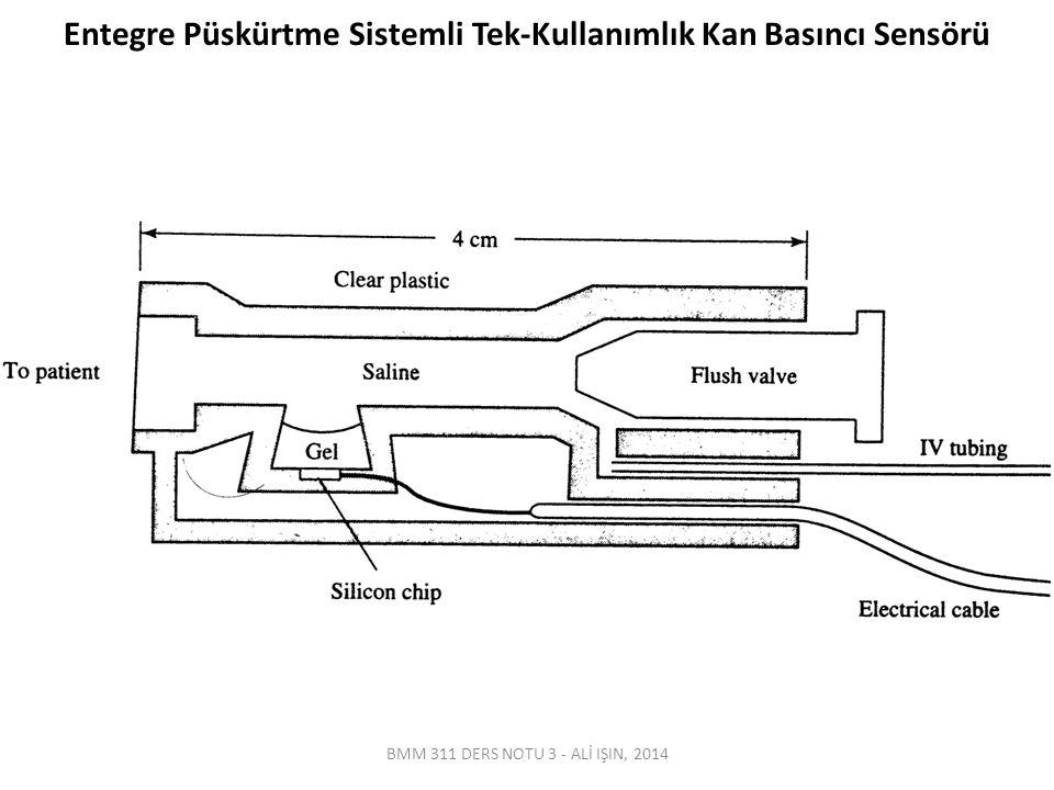 Direkt Ölçüm - EkstraVasküler Ekstravasküler sensör sistemi bir kataterden oluşmaktadır.