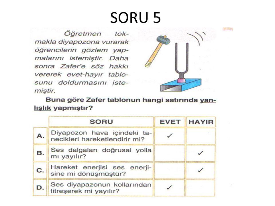 SORU 5