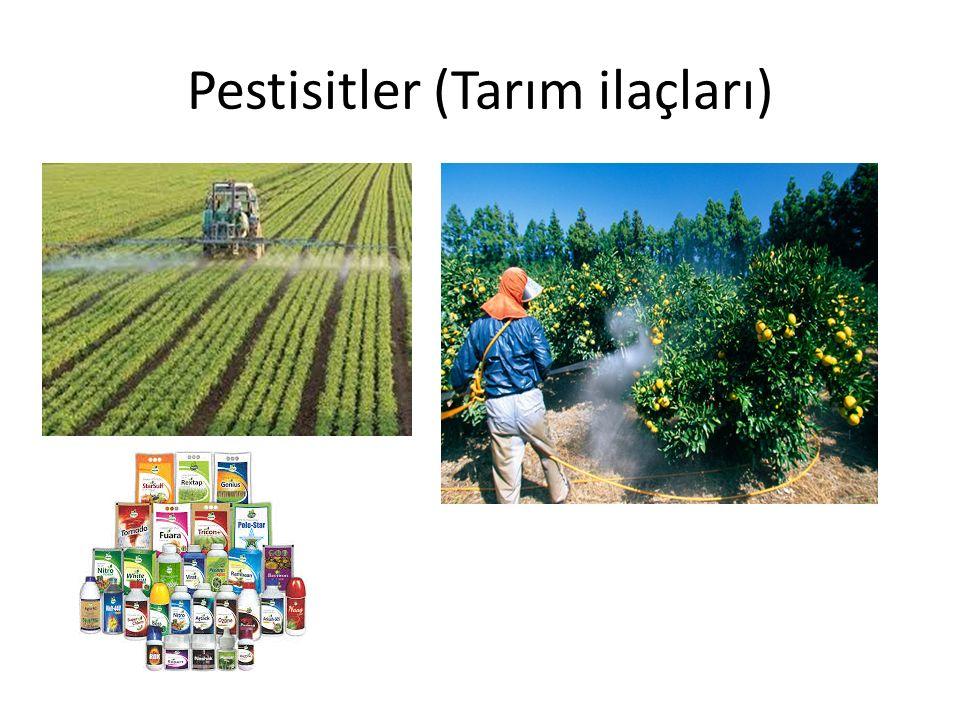 Pestisitler (Tarım ilaçları)