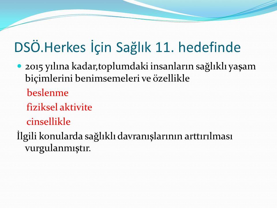 DSÖ.Herkes İçin Sağlık 11.