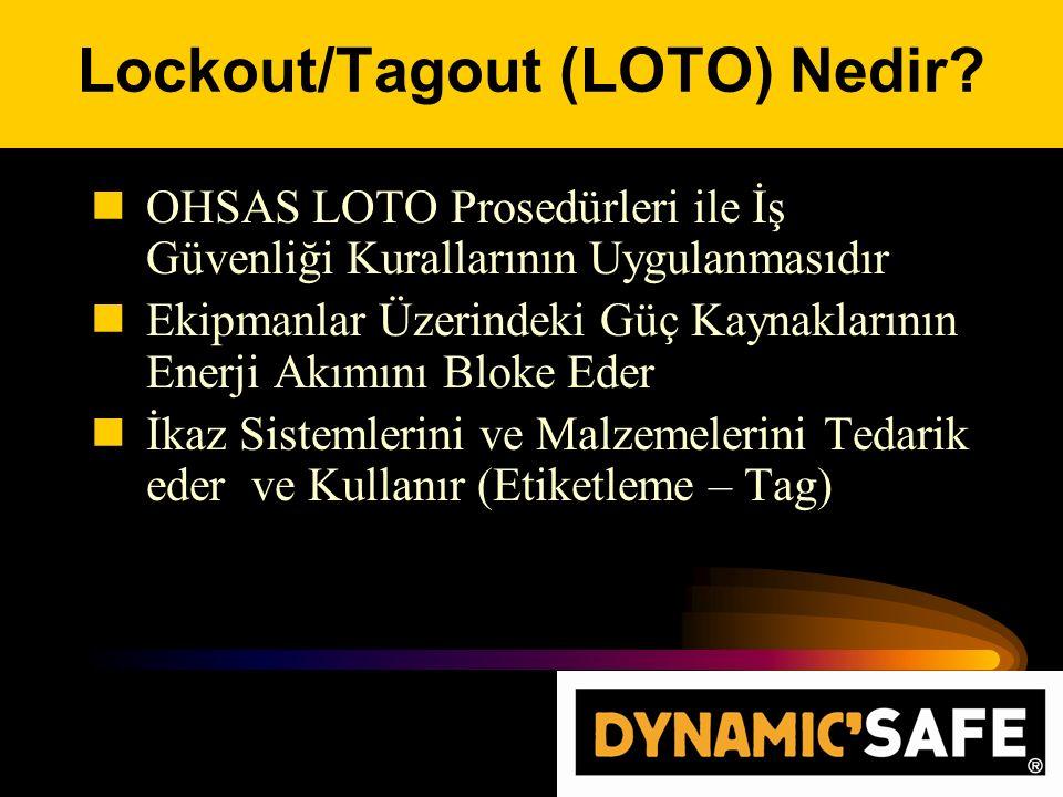 Lockout/Tagout (LOTO) Nedir.