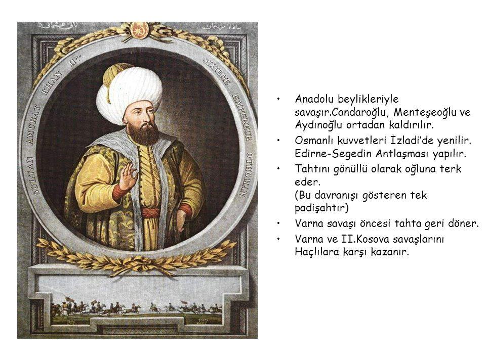 II.MURAD 1421-1451