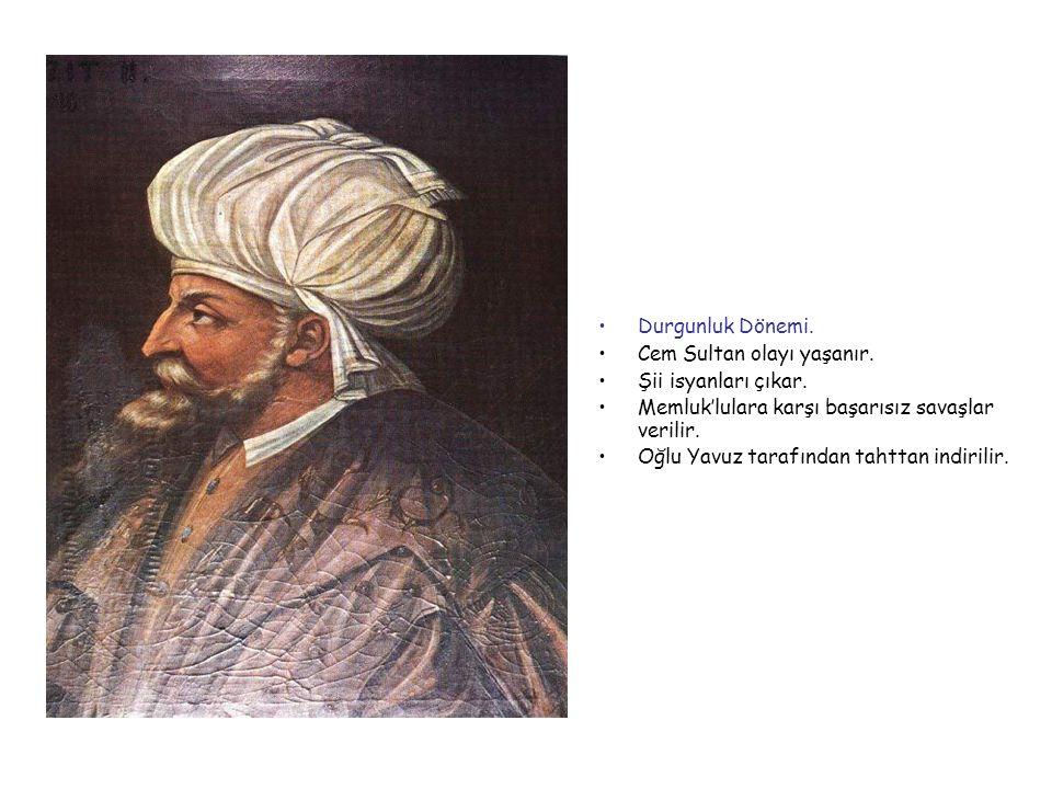 II.BEYAZİD 1481-1512