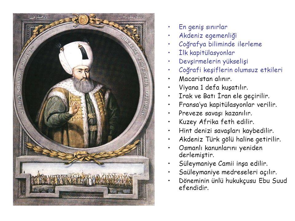 I.SÜLEYMAN (KANUNİ) 1520-1566