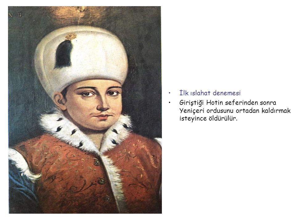 II.OSMAN (GENÇ) 1618-1622