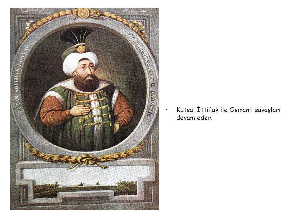 II.SÜLEYMAN 1687-1691
