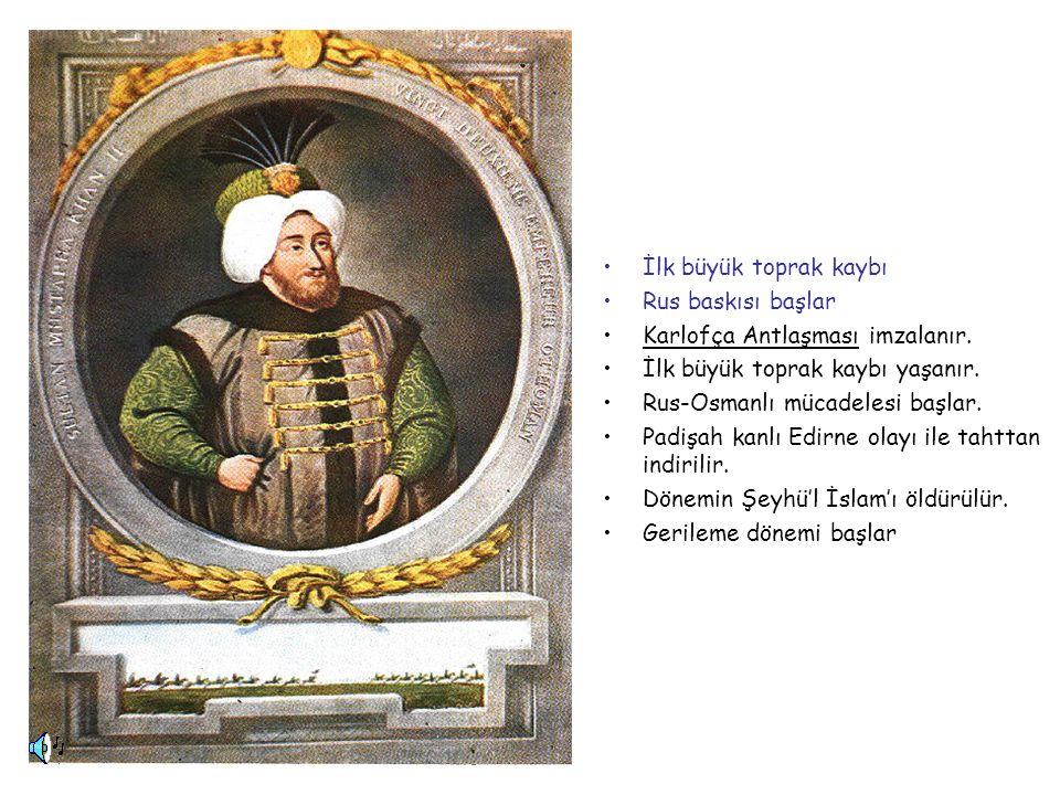 II.MUSTAFA 1695-1703