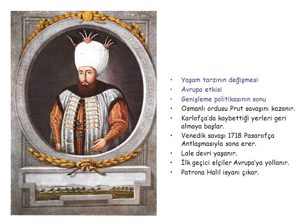 III.AHMET 1703-1730
