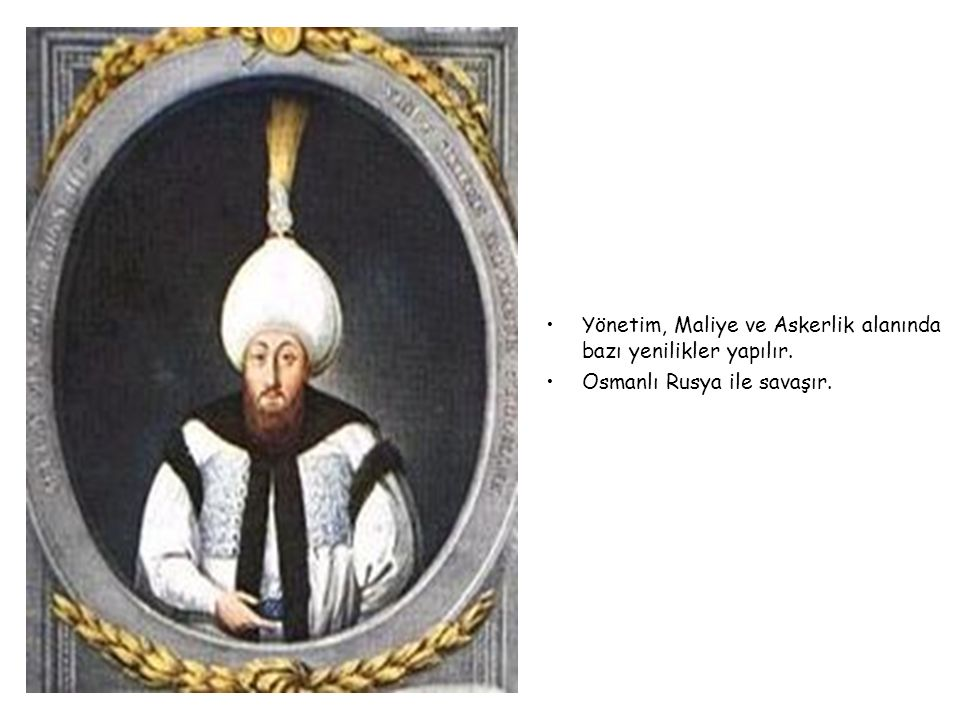 III. MUSTAFA 1757-1774