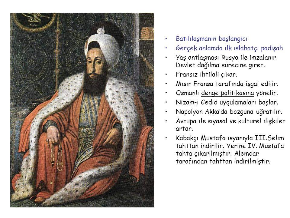 III.SELİM 1789-1807