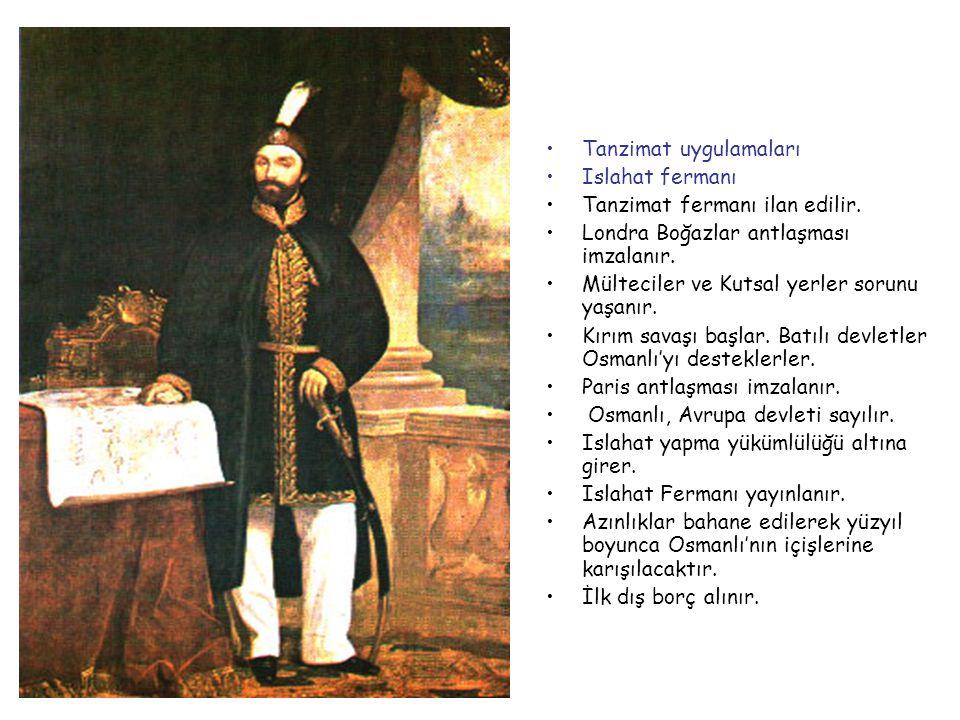 Abdülmecid 1839-1861