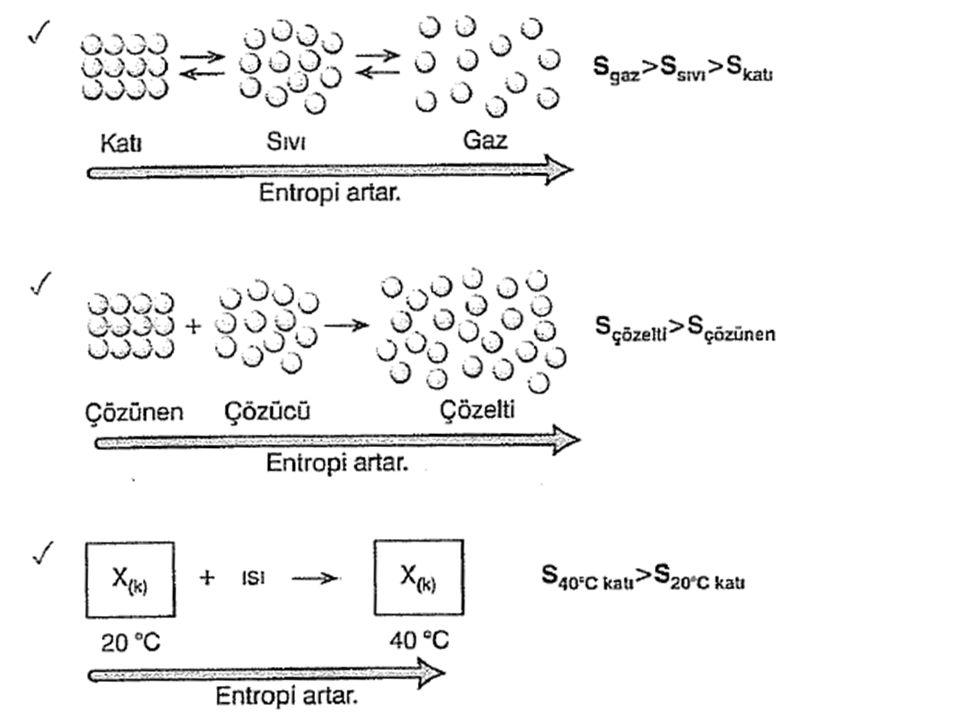 Gibbs Serbest Enerjisi Termodinamiğin II.