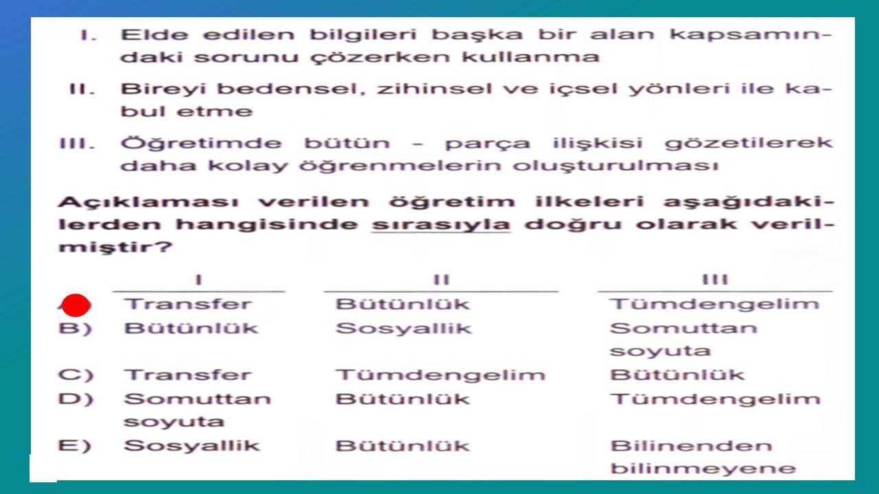 Recep Tayyip Erdoğan Üniversitesi Eğitim Fakültesi Pedagojik Formasyon E ğ itimi Sertifika Programı ……Ders Notları ı