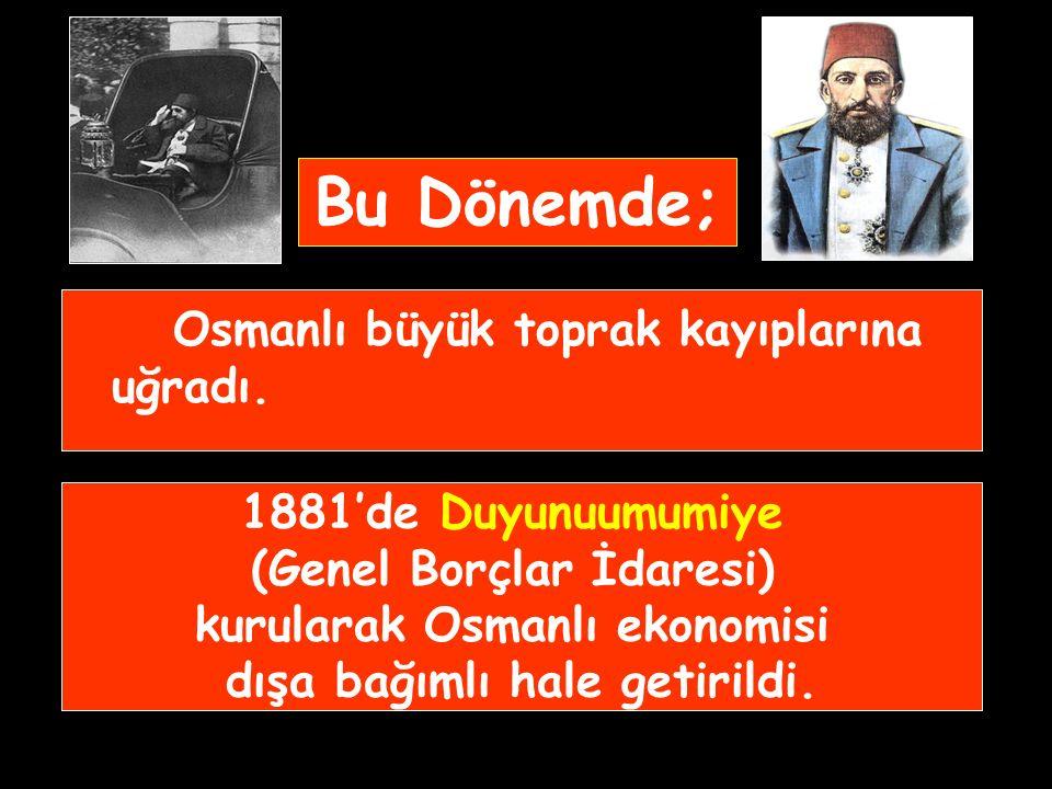 İstibdat Dönemi II. Abdülhamit mutlak otoritesini güçlendirmek için 1877-78 Osmanlı-Rus savaşını gerekçe göstererek parlamentoyu kapattı ve Kanunuesas