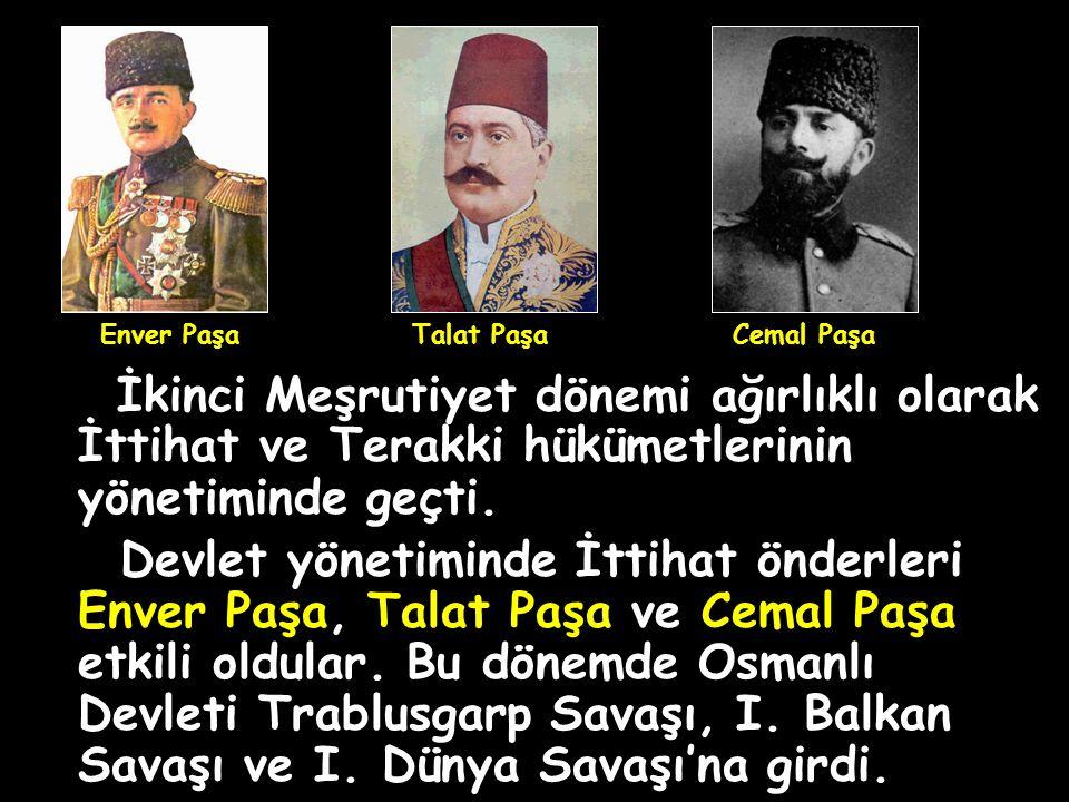 1) İlk kez çok partili hayata geçildi (İttihat ve Terakki Fırkası, Hürriyet ve İtilaf Fırkası, Ahrar Fırkası kuruldu.), II.Meşrutiyet'in Özellikleri 2