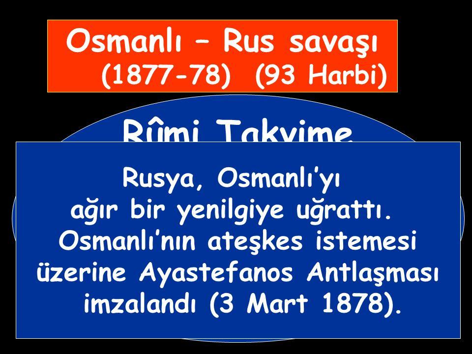 V.Murat'ın akli dengesinin bozuk olduğu anlaşılınca Meşrutiyeti ilan edeceğine söz veren kardeşi II.Abdülhamit tahta çıkarıldı. (1876 – 1909)