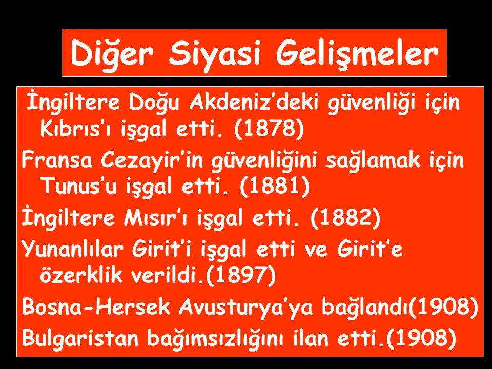 DAĞILMA DÖNEMİ (19.Yüzyıl) ISLAHAT HAREKETLERİ ANAYASACILIK TANZİMAT FERMANI (1839) ISLAHAT FERMANI (1856) ANAYASA I.