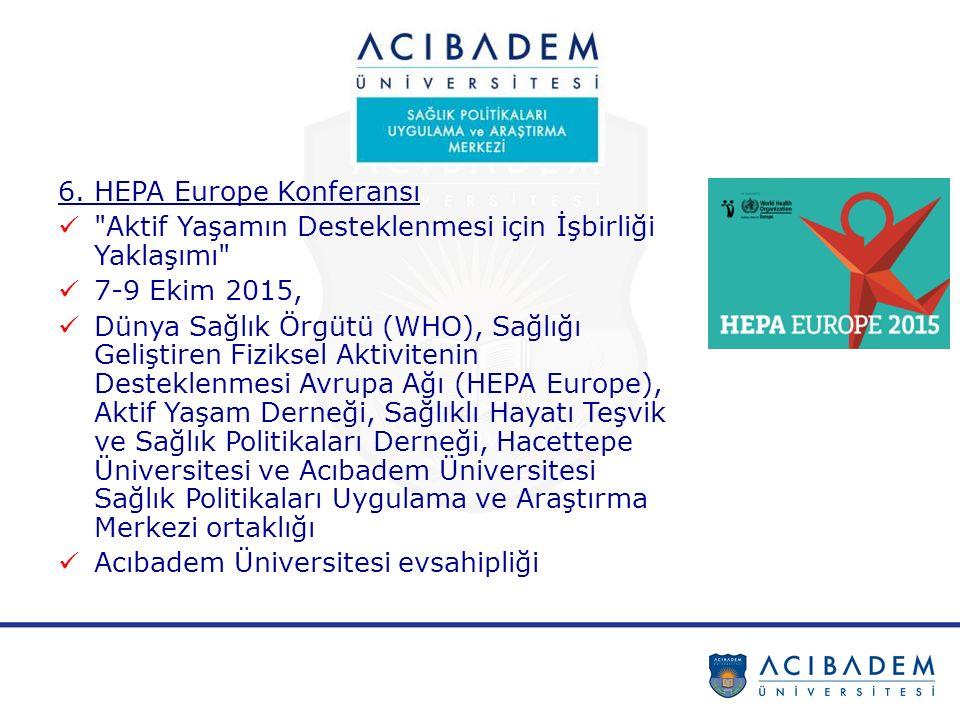 6. HEPA Europe Konferansı