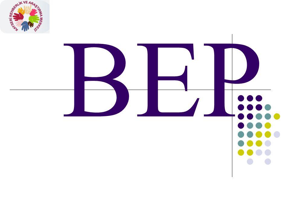 BEP Dosyasında Olması Gereken Formlar