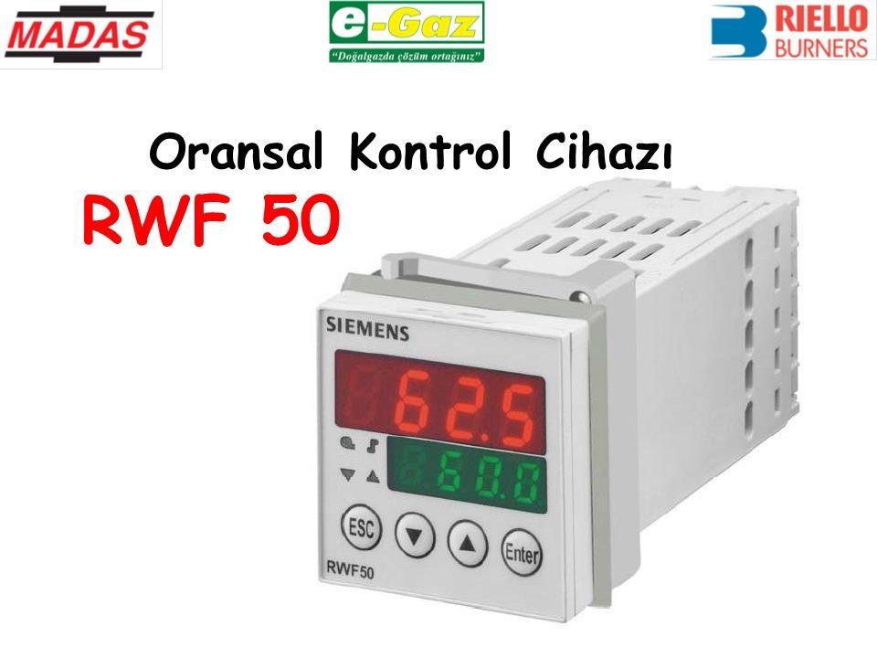 Oransal Kontrol Cihazı RWF 50